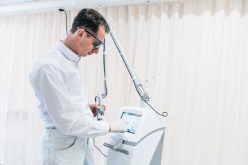 dr ludwig am lasergerät